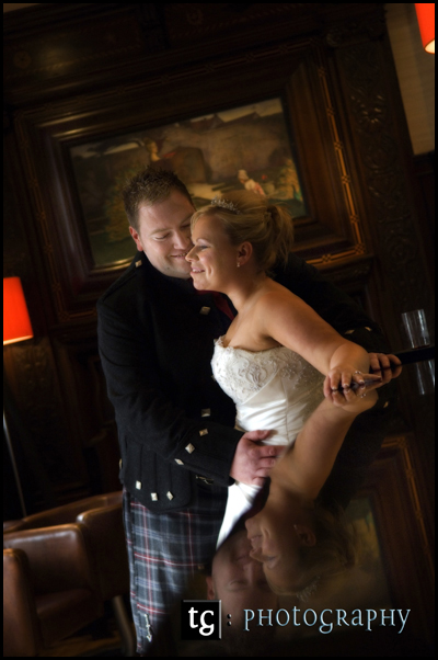 Sally & David, Peirsland House Hotel