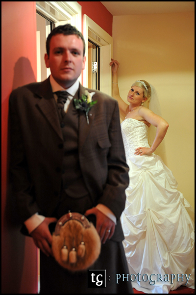 Donna & Chris wedding photograph, wedding Gailes Hotel