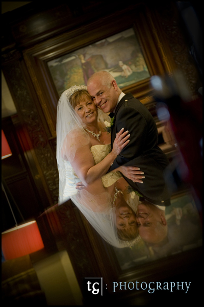 Karen & Ian Wedding Photograph Piersland House Hotel