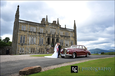 Wedding Ross Priory, Loch Lomond, wedding photograph