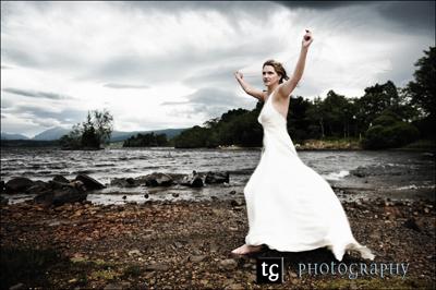 Katja€™s stunning wedding Ardanaiseig Hotel, Loch Awe