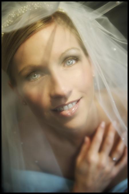 Lucy wedding Piersland House Hotel, stunning bridal portrait