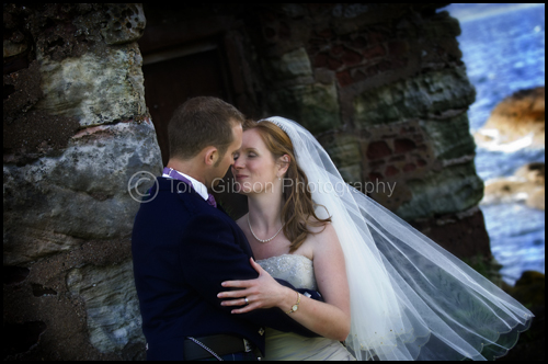 Fun wedding photograph Portencross, Wedding Seamill Hydro Hotel
