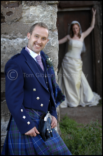 Contemporary wedding photograph, Wedding Largs & Seamill Hydro