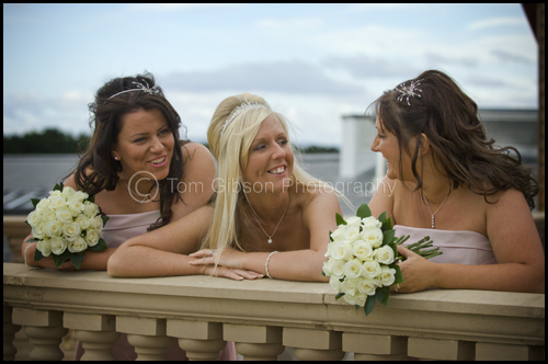 Wedding Gailes Hotel, wedding photograph Shona and the girls