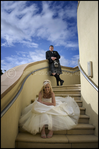 Wedding Scotland, wedding photograph Gailes Hotel