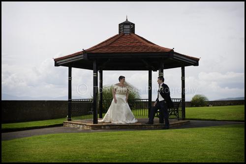 Donna & Craig €™s wedding Seamill Hydro, Wedding photograph bride and groom
