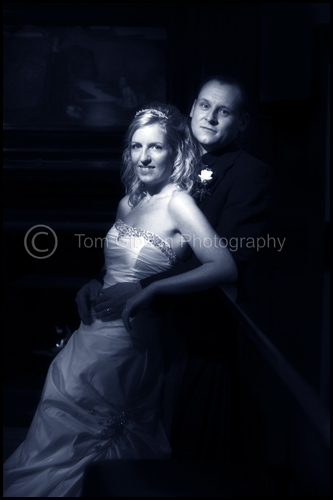 Wedding Piersland House Hotel, wedding photograph Emma & Simon