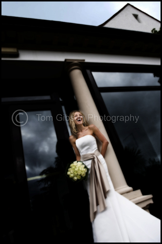 Stunning wedding photograph Helen, Wedding Lochgreen House Hotel, Troon
