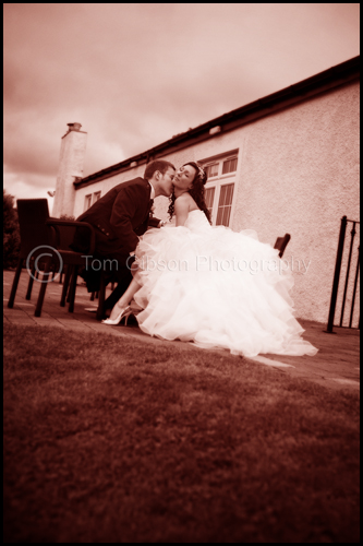 Wedding Lochside House Hotel, Cumnock, wow wedding photograph Lynsey and Kris