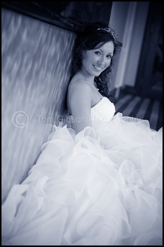 Gorgeous wedding photograph Lynsey, wedding Lochside House Hotel