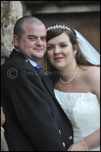 Wedding Seamill Hydro, Louise and David beautiful wedding photograph Portencross