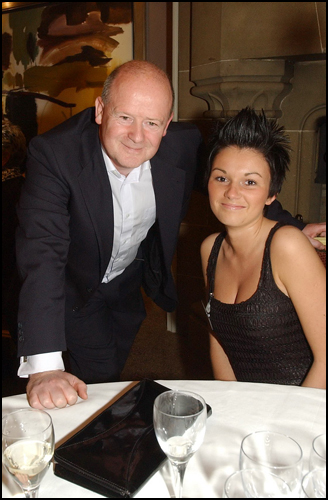 Tom and Michaela one of the 20 finalists at the evening event Ayrshire Supermodel, Western House Hotel