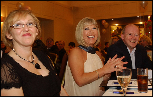 Having a laugh Ayrshire Supermodel, Ayrshire Post, evening event Western House Hotel