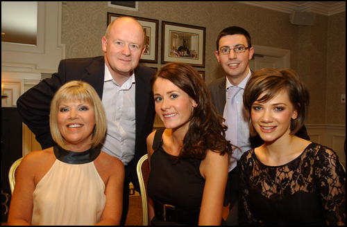 Judging panel Ayrshire Supermodel event evening, Western House Hotel