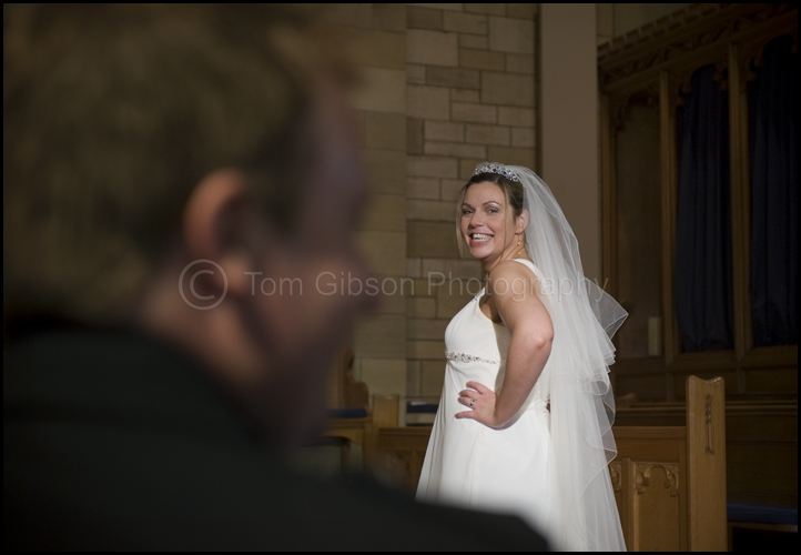 Gill stunning wedding photograph the Gailes, Ayrshire
