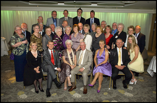 Golden Wedding Party Photograph, Brisbane House Hotel, Largs