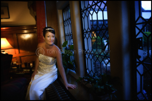 Wedding Lochgreen House Hotel, Troon, Beautiful wedding photograph bride