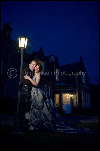 Beautiful evening wedding photographs Portpatrick, Scotland, Sarah & Peter