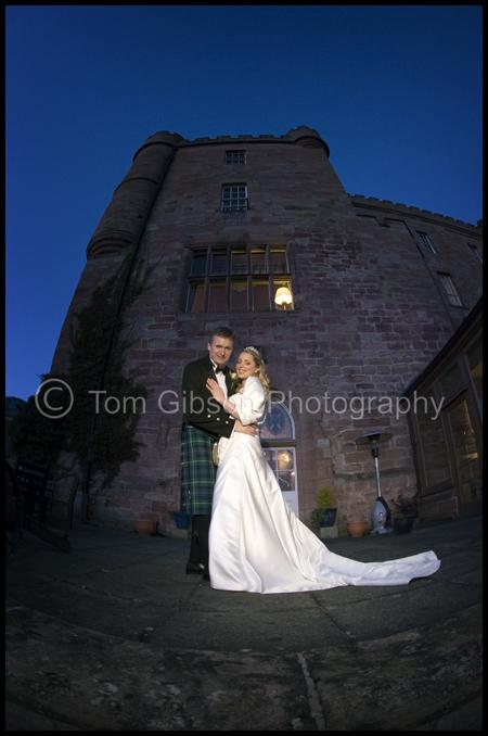 Jen & Martin€™s Wedding Dalhousie Castle, Stunning Wedding Photograph Jen & Martin
