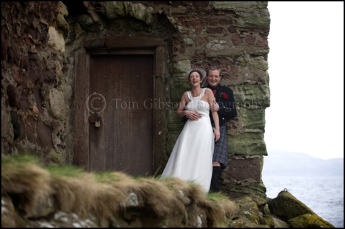 Wedding Seamill Hydro Hotel, Wedding photographs Portencross Lesley and Paul