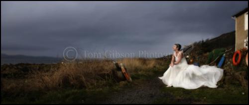 Wedding Seamill Hydro, Wedding photograph Portencross Lesly