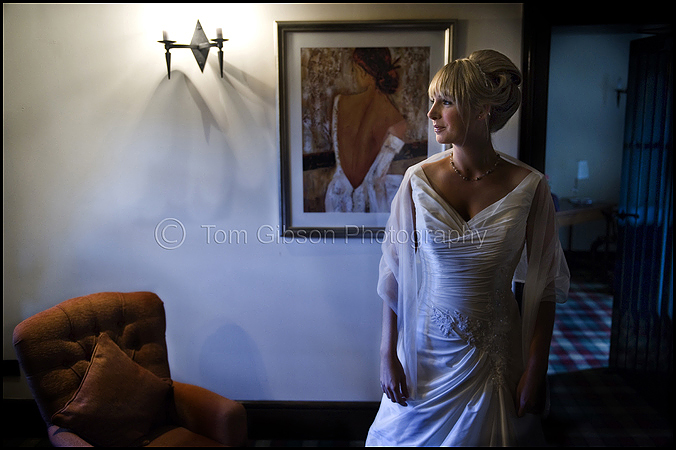 Catherine and David€™s wedding Brig O Doon Alloway, Bridal portrait Catherine