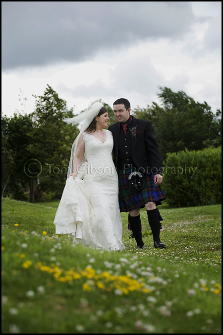 Wedding Lochside House Hotel wedding photographer VOWS award winner