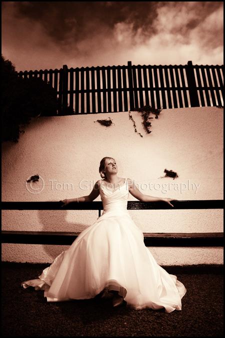 beautiful bride photograph Brig O Doon wedding, wedding photographer Brig O Doon Alloway