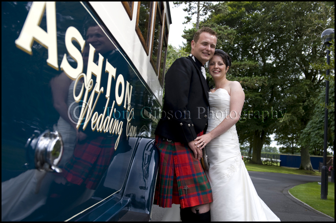 Wedding photographs Western House Hotel, wedding photographer Ayr Troon Kilmarnock Ayrshire
