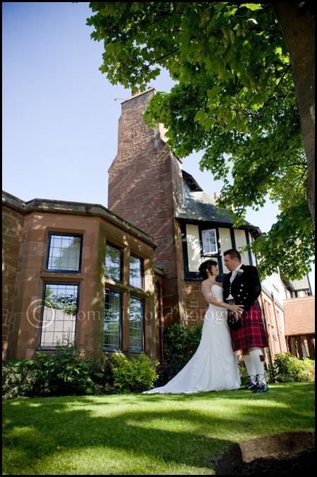 Wedding Troon Ayrshire, Peirsland House Hotel, Wedding photographer Troon, Beautiful wedding photographs
