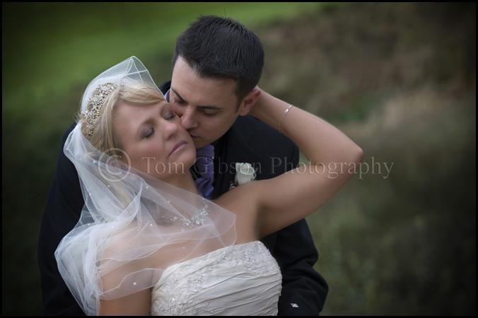 stunning wedding photograph bride and groom wedding photographer ayrshire lochside house hotel wedding