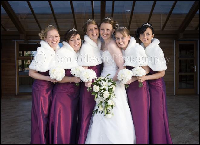 Ayrshire wedding photographer, Gailes Hotel wedding, fun wedding photographs bride and bridesmaids