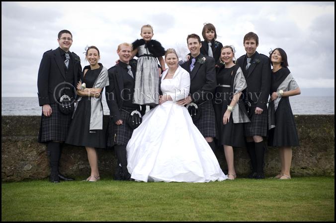 Seamill Hydro Hotel wedding photographer great wedding group photographs wedding photographer Ayrshire