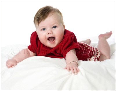Ayrshire Portrait Photographer, Cute Baby Photograph