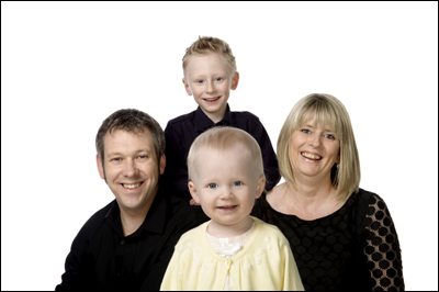 Fun Family Portrait Photographer Ayrshire
