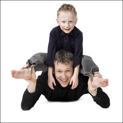 Ayrshire Portrait Photographer, Fun Family Photo