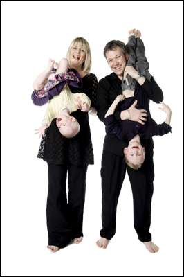 Ayr Portrait Photographer, Fun Family Photo