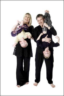 Ayr Portrait Photographer, Fun Family Photo