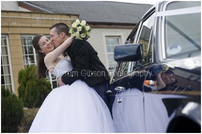 Ayrshire Wedding Photographer, great wedding photograph bride and groom