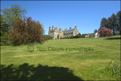 Landscape photographs Blair Estate Ayrshire, Ayrshire Photographer Tom Gibson