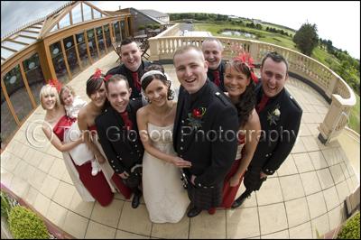 Pamela & Kenneth's Wedding, Gailes Hotel, Irvine