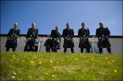 Ayrshire Wedding Photographer Scotland, great wedding photographs groom, bestman and ushers