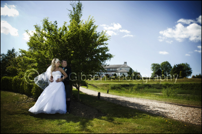 Wedding Photographer Lochside House Hotel, Beautiful wedding photographs bride and groom