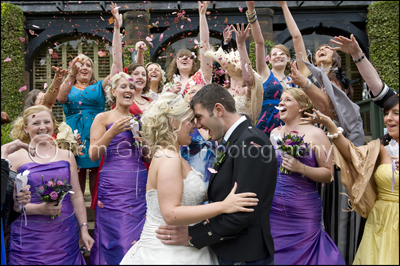 Wedding Piersland House Hotel, Fun Wedding Photographer
