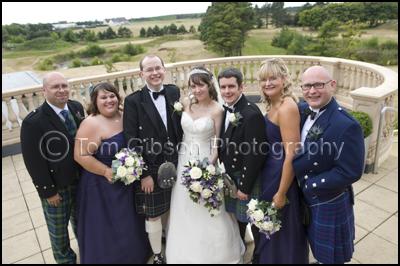 Gailes Hotel Ayrshire Wedding Photographer, Bridal Party Wedding Photographs Ayrshire Gailes Hotel
