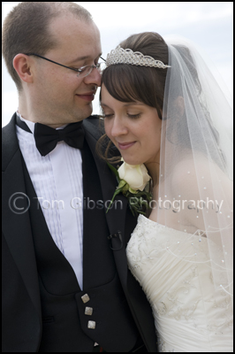 Wedding Photographer Gailes Hotel, Bride and Groom Wedding Photograph Gailes Hotel