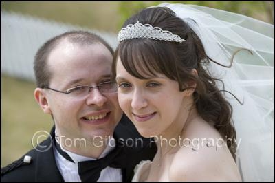 Wedding Photographer Scotland, Ayrshire Gailes Hotel, Wedding Photograph Bride and Groom Scotland