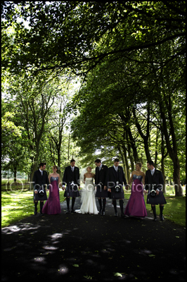 Wedding Photographer Western House Hotel, Bridal Party natural fun relaxed photographs