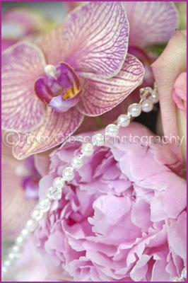 Colourful Wedding Flowers Photograph, Ayrshire Wedding Photographer
